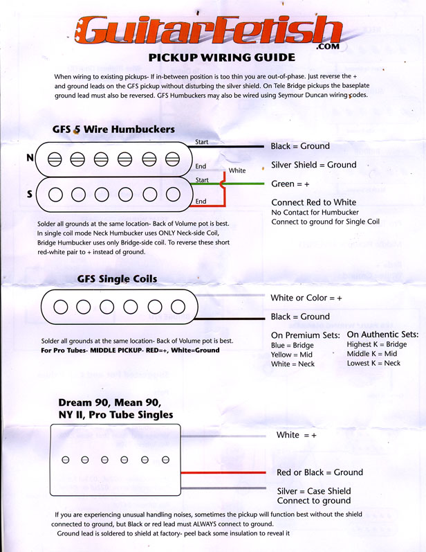 Gfs Humbucker Wiring Diagram - Owner Manual & Wiring Diagram on humbucker pickup diagram, humbucker pickup wiring, 4 conductor humbucker wiring-diagram, humbucker guitar wiring diagrams, humbucker wiring colors, humbucker wiring options,